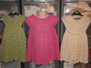 crochet cotton dresses 2014 show