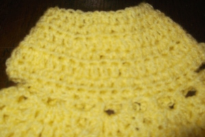 prem baby crochet dress 22 june 2014 005