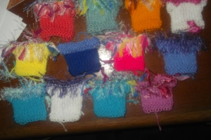 Starting knitting again for my new Barbie dolls
